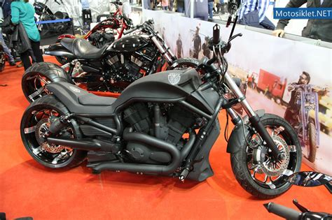 tt custom choppers standi motosiklet fuari  fotograf