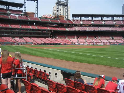 Busch Stadium Section 136 Rateyourseats Com