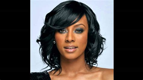 picture of shoulder length hair on african american women medium hairstyles for african american hair youtube