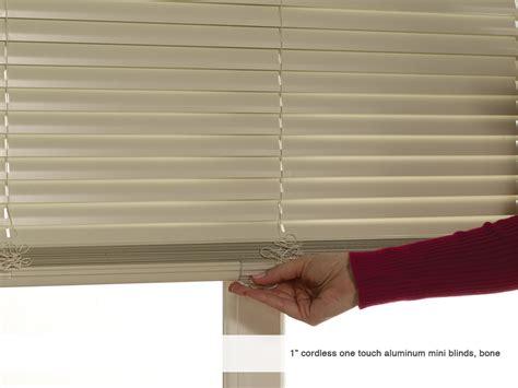 Upholstered Cornice Boards Phase Ii 1 Cordless One Touch Aluminum Mini Blinds Phase Ii