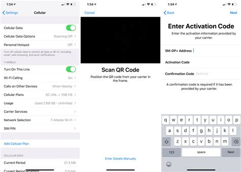 ios 12 1 beta 1 enables esim on the iphone xs and iphone xs max