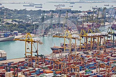 porto di singapore o porto de singapura fotografia editorial imagem 36749797
