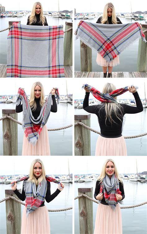 5 ways to wear your winter scarf glam radar