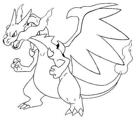 Charizard Ex Coloring Pages by Coloring Pages Charizard Picture 3