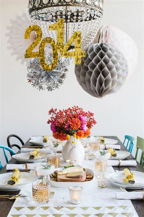 new year ideas 2014 new year table setting ideas