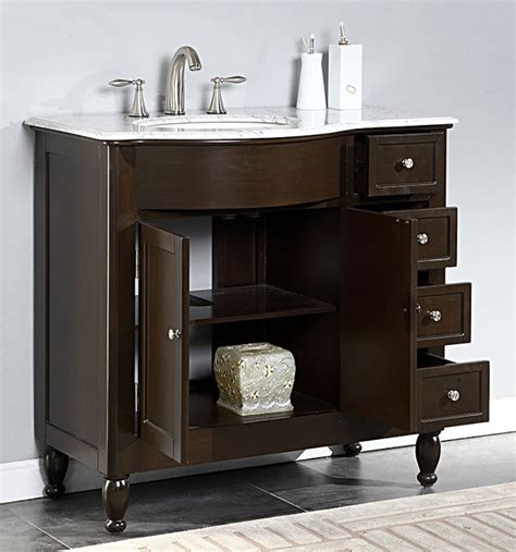 38 bathroom vanity 38 in marble top bathroom vanity contemporary