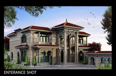 design house qatar classic villa exterior client sheikh khaledlocation