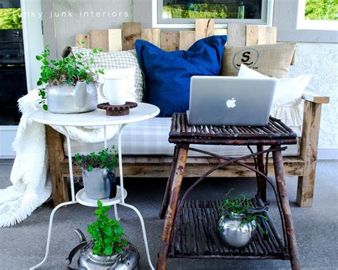 patio furniture funky junk interiors pallets