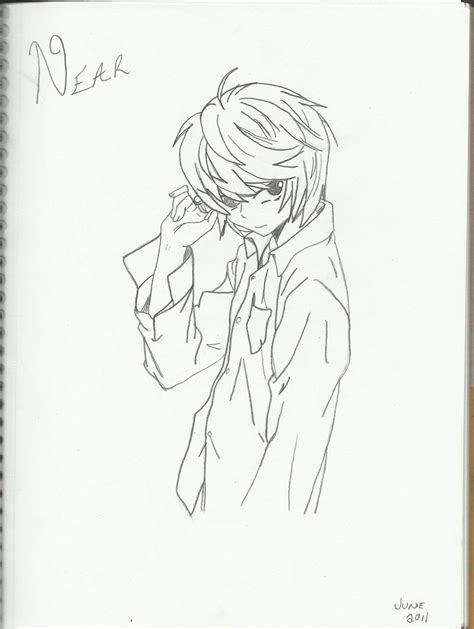 near death note coloring pages coloring pages