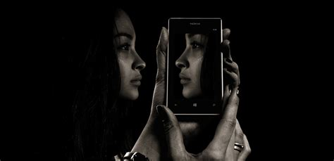 images smartphone hand screen black  white girl woman technology camera