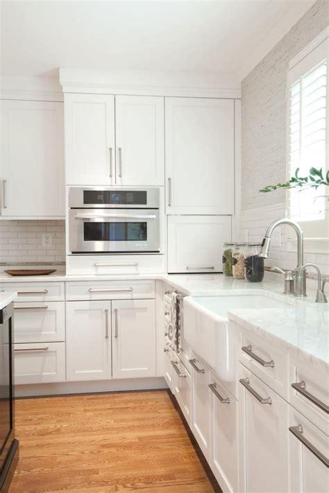 fresh kitchen design sleek white sleek chic white kitchen 2014 hgtv