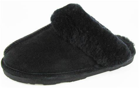 bearpaw slippers loki bearpaw loki ii s slippers shoes sheepskin ebay