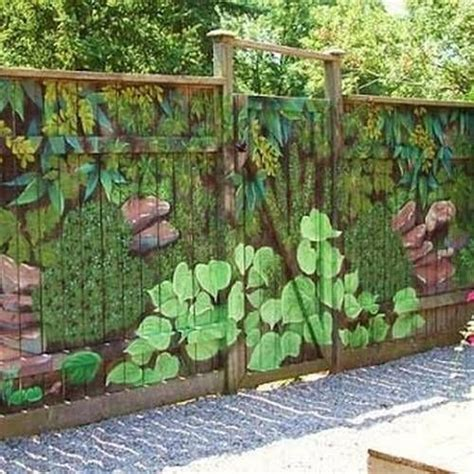 painting backyard fence 17 best ideas about fence painting on pinterest garden