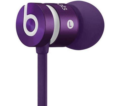 Headset Urbeats beats by dr dre urbeats headphones monochromatic purple