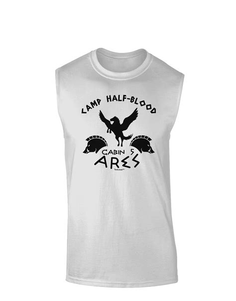 Camp Half Blood Cabin 5 Ares Muscle Shirt by - Davson Sales