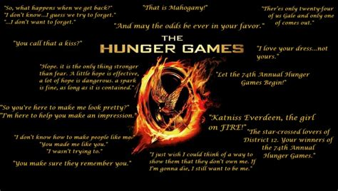 theme of the hunger games with quotes the hunger games memorable quotes hunger games