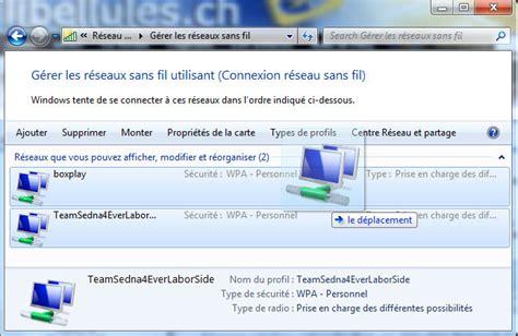 Les Sans Fil by G 233 Rer Les R 233 Seaux Sans Fil Sous Windows 7 Libellules Ch