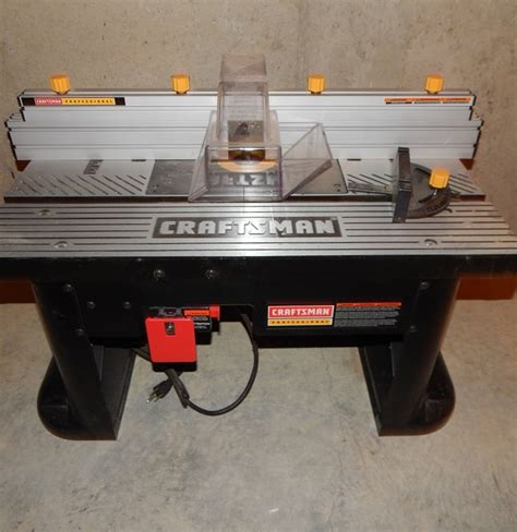craftsman professional router table ebth