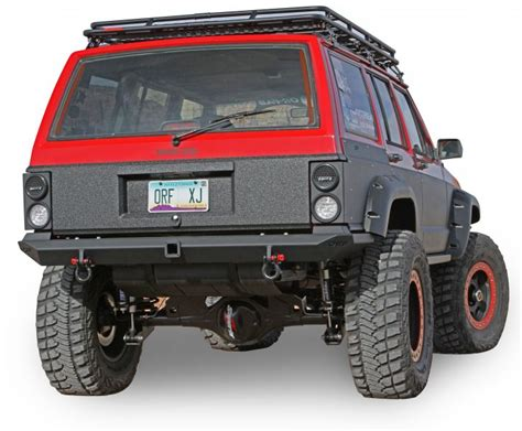 Jeep Rear Bumpers Or Fab 83245bb Or Fab Heavy Duty Comp Cut Rear Bumper