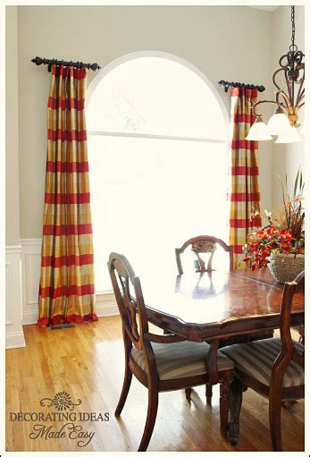 stationary drapery rods modern decorating style long stationary drapes on