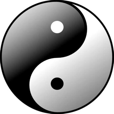 yin  clip art vector graphic vectorme