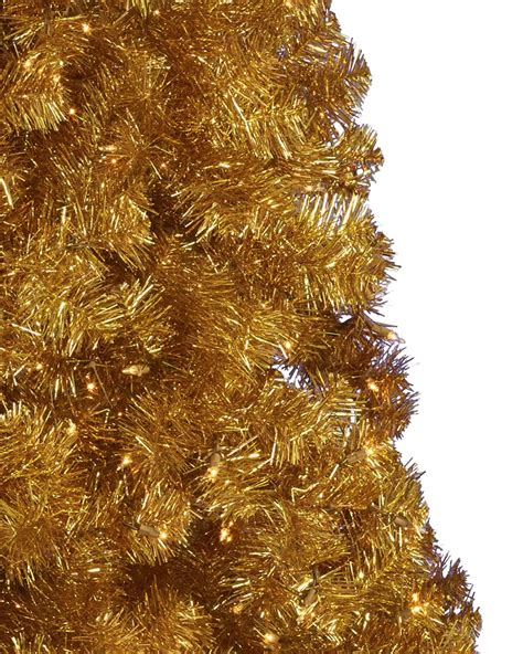 gold christmas tree treetopia
