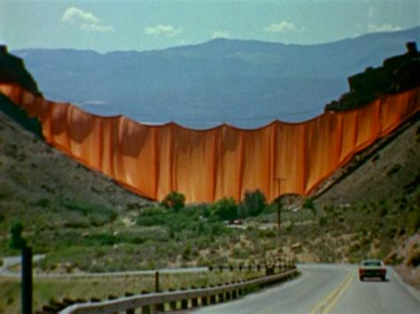 the valley curtain christo s valley curtain film review dinca
