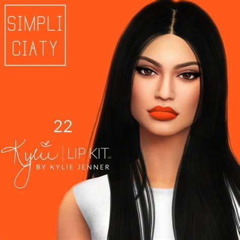 kylie sims 4 lip kit 1000 images about s4cc on pinterest the sims full