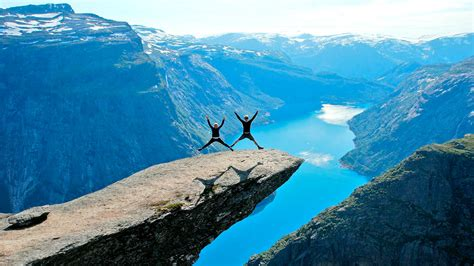 in s tongue trolltunga troll s tongue journey on the edge