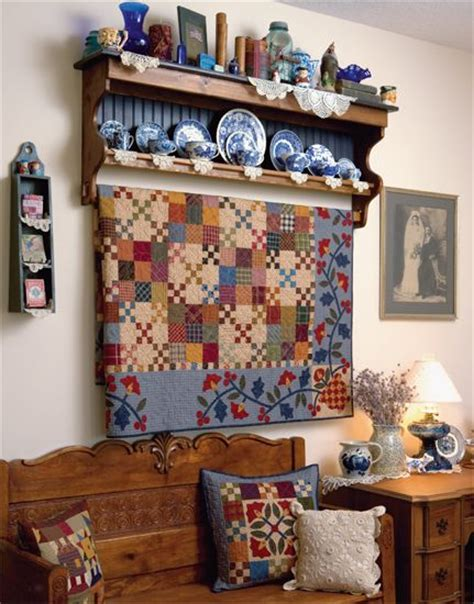 Quilt Hanger Shelf by Quilt Hanger With Shelf For Walls Woodworking Projects