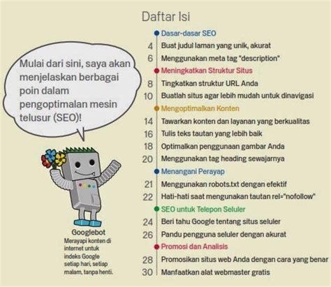 Buku Panduan Bahasa Indonesia terjemahan bahasa indonesia buku panduan seo dari pdf