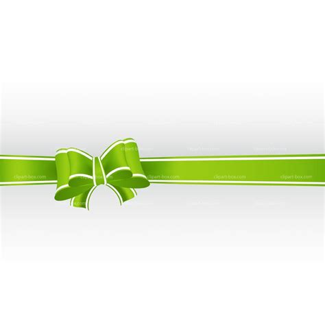 green christmas bow clipart clipart suggest