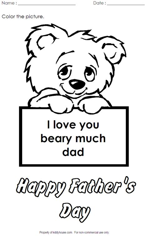 i love you beary much coloring page i love you beary much coloring activity