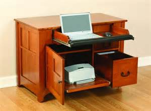 Computer And Printer Desk Amish Mission Laptop Desk Amish Office Furniture Sugar Plum Oak Amish Furniture In Norfolk