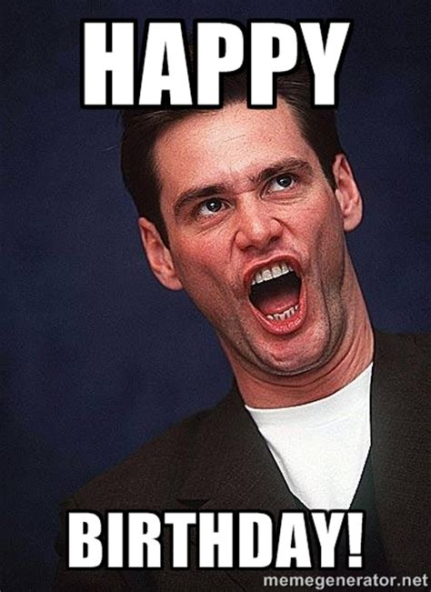 Ridiculous Birthday Meme - funny happy birthday meme of jim carrey image picsmine