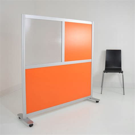 modern room divider 4 low height modern room divider orange translucent