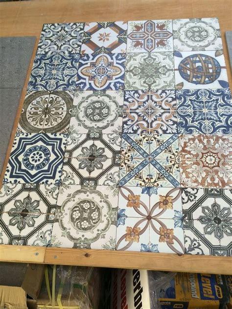 nikea pattern tiles moroccan style vintage shabby chic topps nikea wall floor