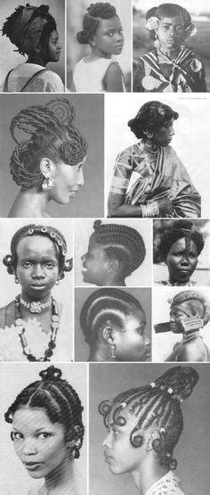 african hairstyles and slave how did black people do their hair in africa before