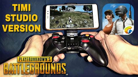 pubg mobile controller pubg mobile with gamepad timi studio version android