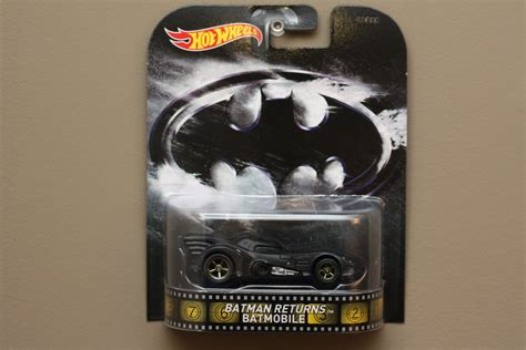 Wheels Hotwheels Retro Bat Mobile Batmobile wheels 2014 retro entertainment batman returns batmobile