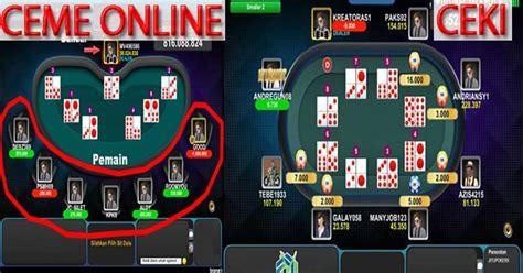 jackpot  permainan ceme  idn poker aruelucom