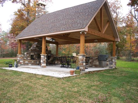 Backyard Pavilion Ideas by The Patio Outdoors