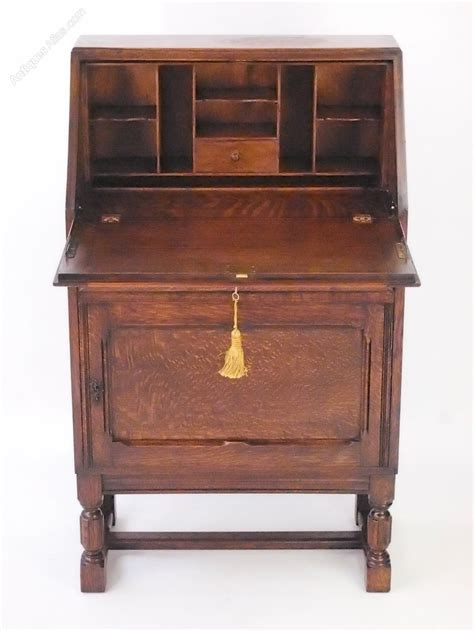 small antique desk small oak bureau writing desk antiques atlas