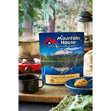 mountain house food mountain house emergency food freeze dried chicken