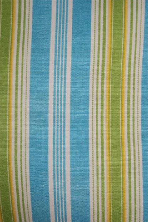 home decor upholstery fabric waverly esmee turquoise waverly turquoise lime and lemon classic stripe heavy