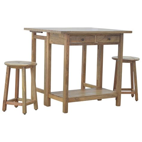breakfast table with stools mango hill breakfast table with 2 stools the home