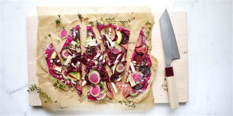 Kitchen Sink Pizza Kitchen Sink Pizza With Beet Balsamic Spread And Gluten Free Crust To Die For
