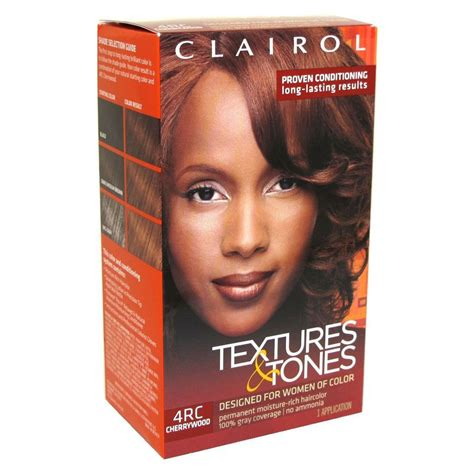 iman cherrywood hair color clairol clai900076 professional textures and tones