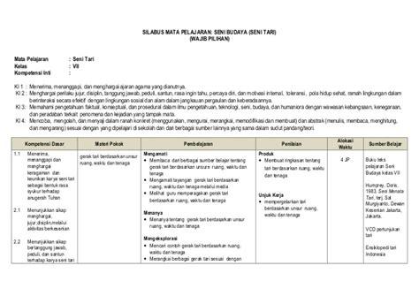 Sbk Seni Budaya Dan Keterilan Kls 3sd seni budaya rpp seni budaya smk kelas x lengkap