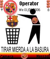 wallpaper anti barcelona anti bar 231 a mobile themes for nokia n gageqd